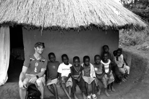 My friend David built a beautiful hut and Layibi Village is the home to these beautiful children.