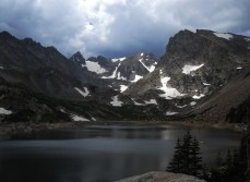 Isabel Lake, located in Indian Peaks Wilderness