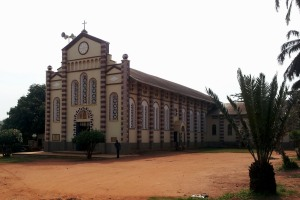 Holy Rosary Church in Gulu, Uganda