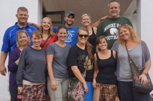 Group #1 of the Teacher Exchange in Uganda 2012.  A great group of people!