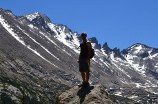 Near Fern Lake - Rocky Mountain National Park
