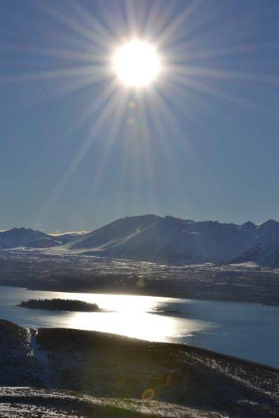 Wow - Lake Tekapo from above
