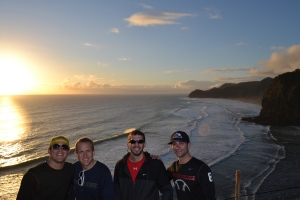 Sunset at the Tasman Sea