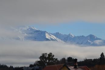 Near Lake Wanaka - Check out the clouds